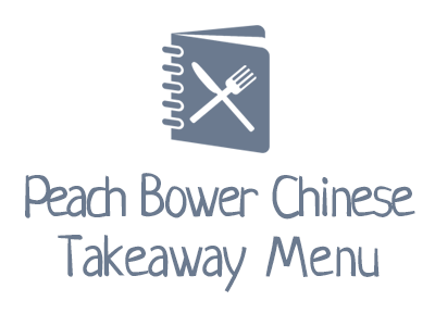 Peach Bower Chinese Takeaway Menu