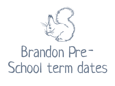 Brandon Pre-School term dates